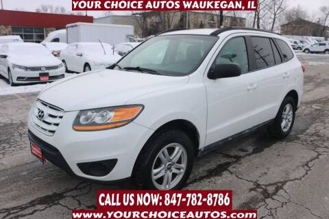 2010 Hyundai Santa Fe for sale at Your Choice Autos - Waukegan in Waukegan IL