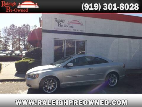 2008 Volvo C70 for sale at Raleigh Pre-Owned in Raleigh NC