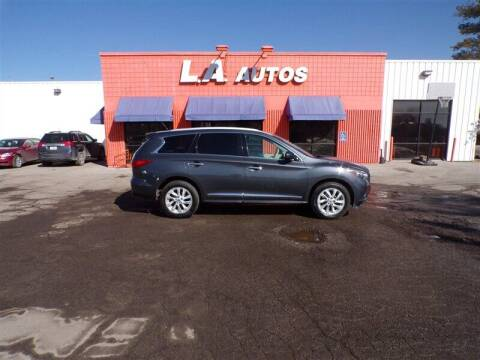 2013 Infiniti JX35 for sale at L A AUTOS in Omaha NE
