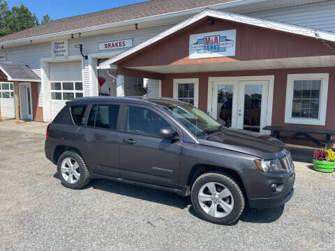 2014 Jeep Compass for sale at M&A Auto in Newport VT