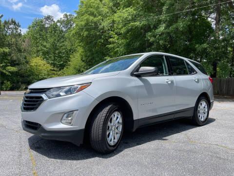 2018 Chevrolet Equinox for sale at Peach Auto Sales in Smyrna GA
