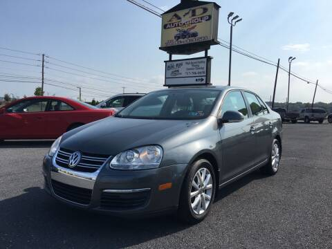 2010 Volkswagen Jetta for sale at A & D Auto Group LLC in Carlisle PA