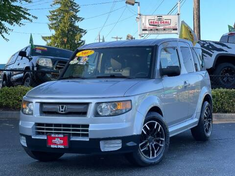 2007 Honda Element for sale at Real Deal Cars in Everett WA