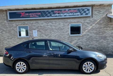 2014 Dodge Dart for sale at Xcelerator Auto LLC in Indiana PA