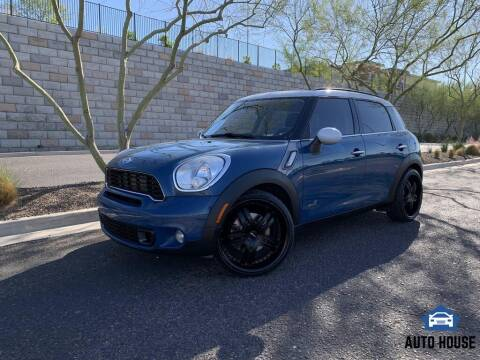 2011 MINI Cooper Countryman for sale at AUTO HOUSE TEMPE in Tempe AZ