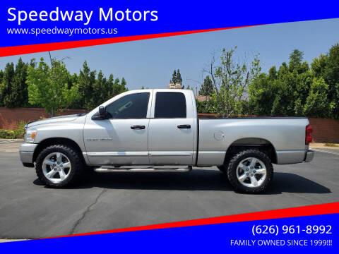 2007 Dodge Ram Pickup 1500 for sale at Speedway Motors in Glendora CA