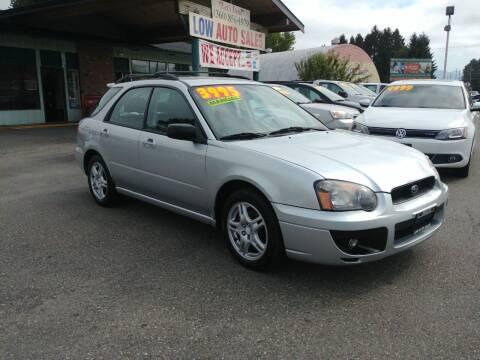 2005 Subaru Impreza for sale at Low Auto Sales in Sedro Woolley WA