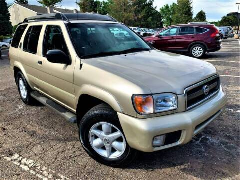 2002 Nissan Pathfinder for sale at CarDen in Denver CO