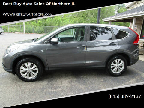 2013 Honda CR-V for sale at Best Buy Auto Sales of Northern IL in South Beloit IL