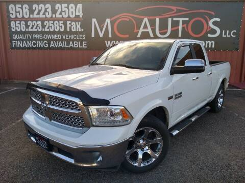 2013 RAM Ram Pickup 1500 for sale at MC Autos LLC in Pharr TX