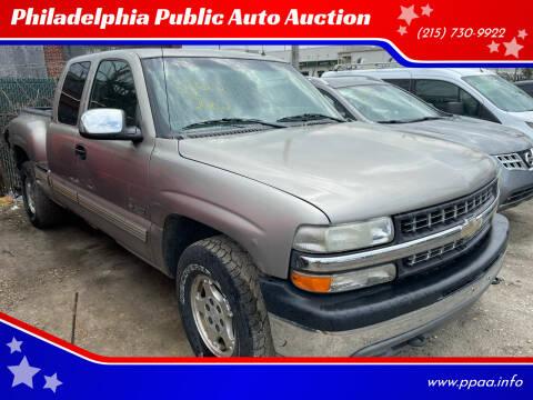 2002 Chevrolet Silverado 1500 for sale at Philadelphia Public Auto Auction in Philadelphia PA