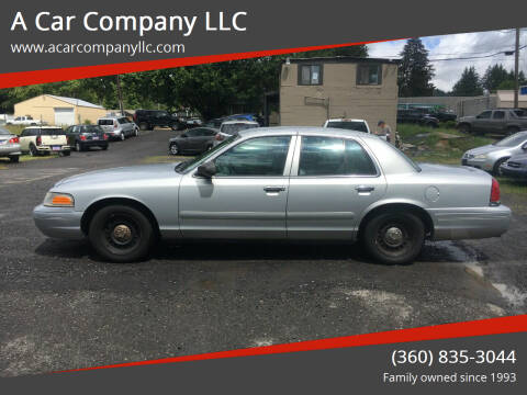 1998 Ford Crown Victoria for sale at A Car Company LLC in Washougal WA