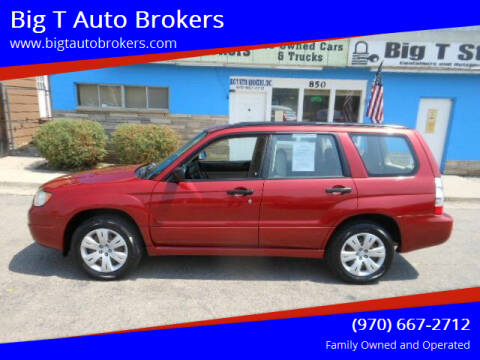 2008 Subaru Forester for sale at Big T Auto Brokers in Loveland CO