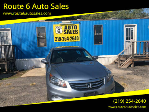 2011 Honda Accord for sale at Route 6 Auto Sales in Portage IN