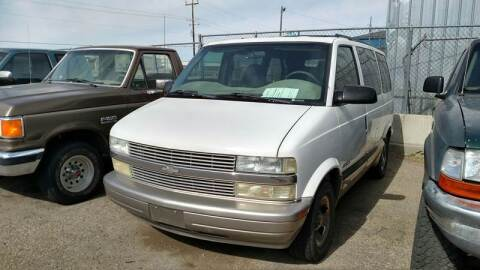 2002 Chevrolet Astro for sale at AFFORDABLY PRICED CARS LLC in Mountain Home ID