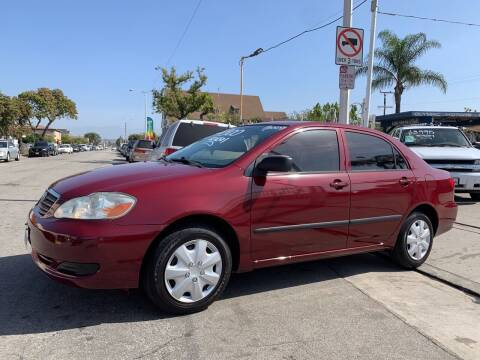 2005 Toyota Corolla for sale at Olympic Motors in Los Angeles CA