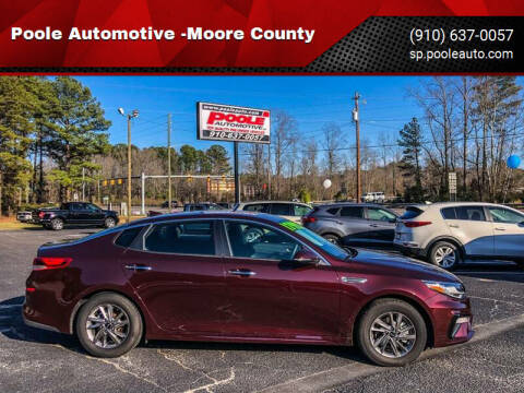 2019 Kia Optima for sale at Poole Automotive in Laurinburg NC