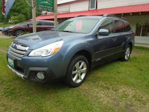 2014 Subaru Outback for sale at Wimett Trading Company in Leicester VT
