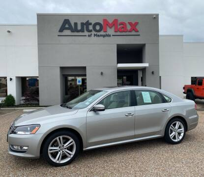 2014 Volkswagen Passat for sale at AutoMax of Memphis in Memphis TN