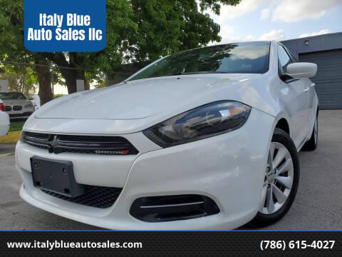 2014 Dodge Dart for sale at Italy Blue Auto Sales llc in Miami FL