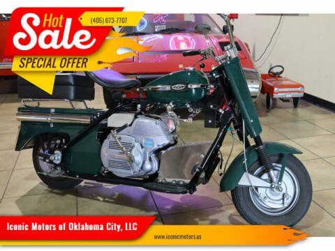1966 Cushman Silver Eagle for sale at Iconic Motors of Oklahoma City, LLC in Oklahoma City OK