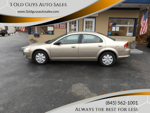 2003 Chrysler Sebring for sale at 3 Old Guys Auto Sales in Newburgh NY