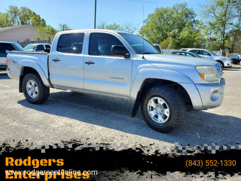2008 Toyota Tacoma for sale at Rodgers Enterprises in North Charleston SC