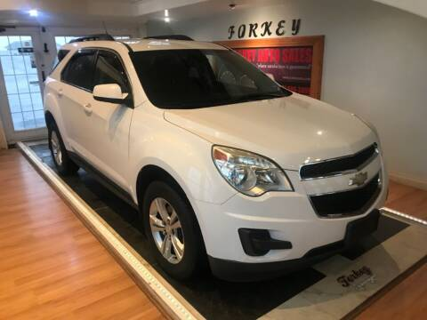 2013 Chevrolet Equinox for sale at Forkey Auto & Trailer Sales in La Fargeville NY