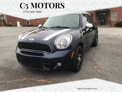 2012 MINI Cooper Countryman for sale at C5 Motors in Marietta GA