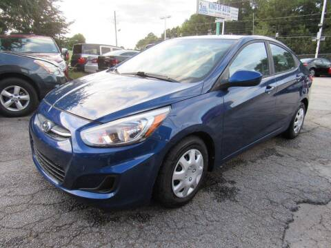 2017 Hyundai Accent for sale at King of Auto in Stone Mountain GA