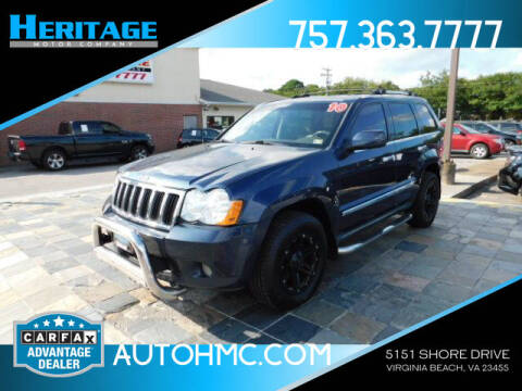 2010 Jeep Grand Cherokee for sale at Heritage Motor Company in Virginia Beach VA