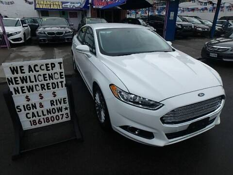 2014 Ford Fusion for sale at Cedano Auto Mall Inc in Bronx NY