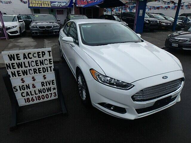 2014 Ford Fusion for sale at 4530 Tip Top Car Dealer Inc in Bronx NY