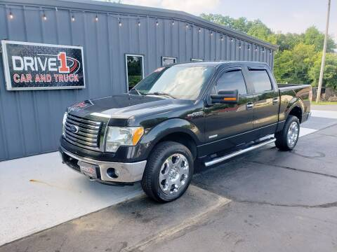 2012 Ford F-150 for sale at Drive 1 Car & Truck in Springfield OH