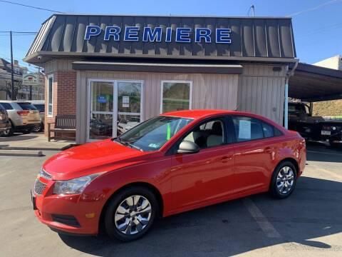2014 Chevrolet Cruze for sale at Premiere Auto Sales in Washington PA