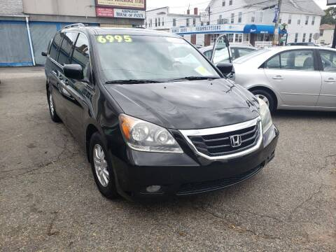 2010 Honda Odyssey for sale at TC Auto Repair and Sales Inc in Abington MA