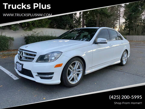 2013 Mercedes-Benz C-Class for sale at Trucks Plus in Seattle WA