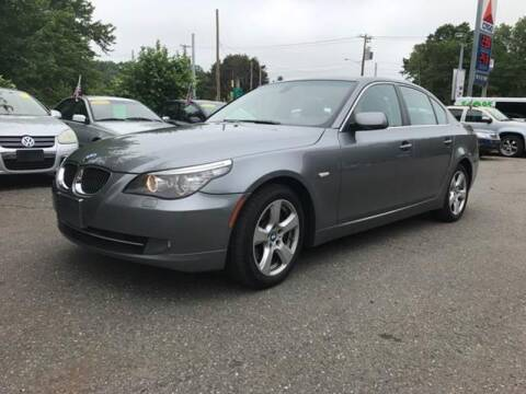 2008 BMW 5 Series for sale at TOLLAND CITGO AUTO SALES in Tolland CT