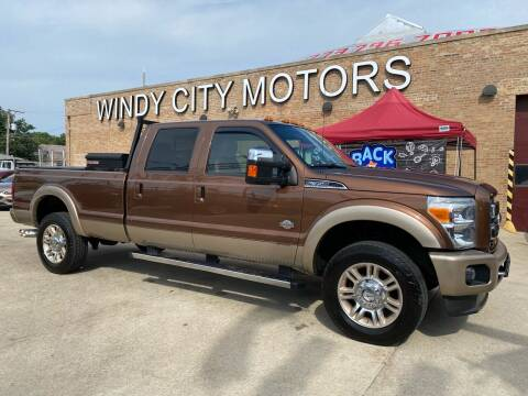 2011 Ford F-350 Super Duty for sale at Windy City Motors in Chicago IL