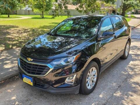 2018 Chevrolet Equinox for sale at Amazon Autos in Houston TX