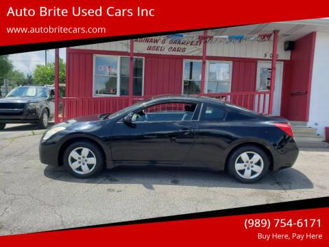 2008 Nissan Altima for sale at Auto Brite Used Cars Inc in Saginaw MI