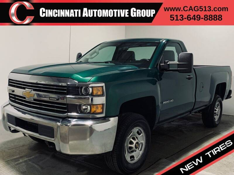 2016 Chevrolet Silverado 2500HD for sale at Cincinnati Automotive Group in Lebanon OH