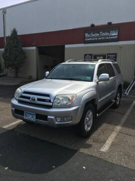 2004 Toyota 4Runner for sale at Specialty Auto Wholesalers Inc in Eden Prairie MN