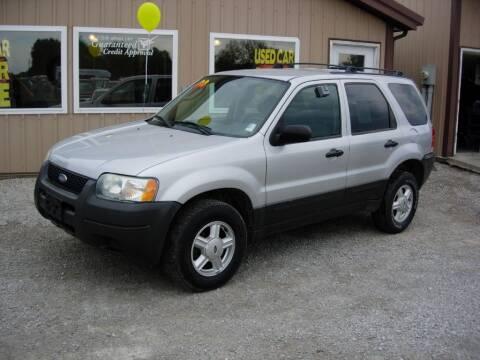 2004 Ford Escape for sale at Greg Vallett Auto Sales in Steeleville IL