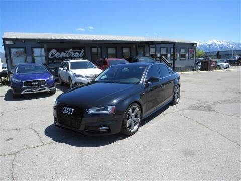 2014 Audi A4 for sale at Central Auto in South Salt Lake UT