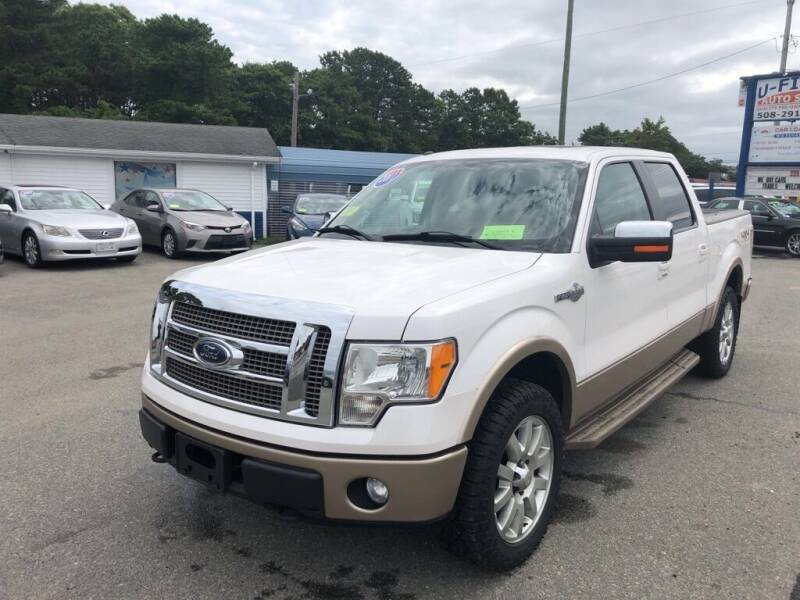 2011 Ford F-150 for sale at U FIRST AUTO SALES LLC in East Wareham MA