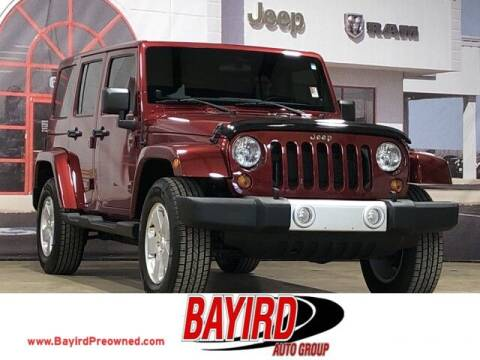2012 Jeep Wrangler Unlimited for sale at Bayird Truck Center in Paragould AR