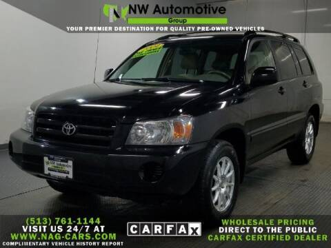 2004 Toyota Highlander for sale at NW Automotive Group in Cincinnati OH