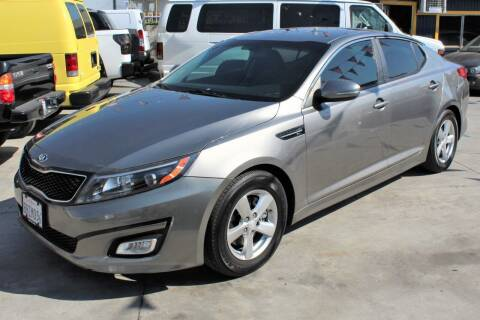 2015 Kia Optima for sale at Good Vibes Auto Sales in North Hollywood CA