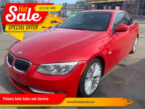 2011 BMW 3 Series for sale at Polonia Auto Sales and Service in Hyde Park MA